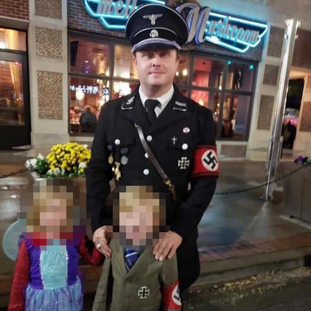 Man Who Dressed 5 Year Old Son In Nazi Halloween Costume Says It Was A U0027bad  Decisionu0027