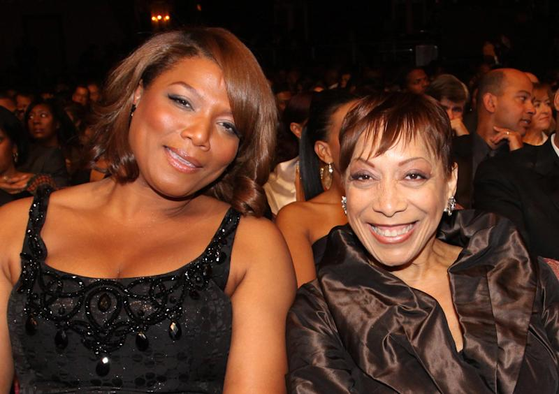 Latifah and her mother, Rita Owens, in 2010.  (Johnny Nunez via Getty Images)