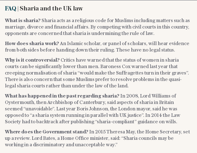FAQ | Sharia and the UK law