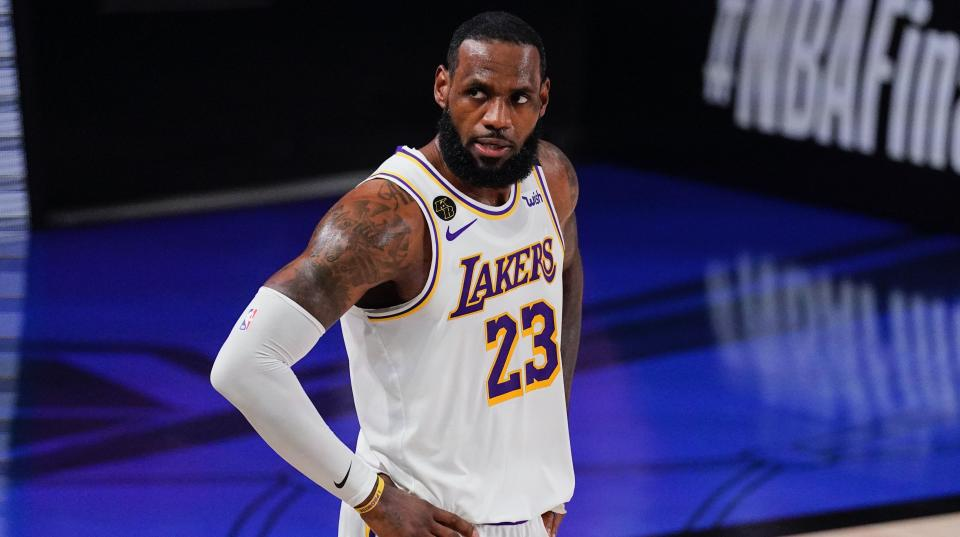 LeBron James is a vocal critic of the NBA's All-Star plans. (AP Photo/Mark J. Terrill)