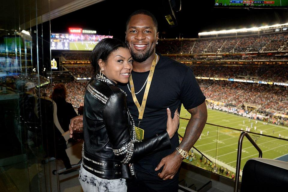 """<p><strong>How long they've been together: </strong>They started dating in 2015 and Hayden popped the question on Mother's Day 2018. Please defer to Henson's <a href=""""https://www.instagram.com/p/BiwgTbxAKRO/?utm_source=ig_embed"""" rel=""""nofollow noopener"""" target=""""_blank"""" data-ylk=""""slk:engagement announcement"""" class=""""link rapid-noclick-resp"""">engagement announcement</a> (spoiler alert: Hayden's gift-game is strong).<br></p><p><strong>Why you forgot they're together:</strong> Henson rarely shares information about her private life, but she posts the occasional (super-cute) Instagram of her fiancé (an NFL star). If you don't follow her on the 'gram, odds are you aren't in the know.<br></p>"""