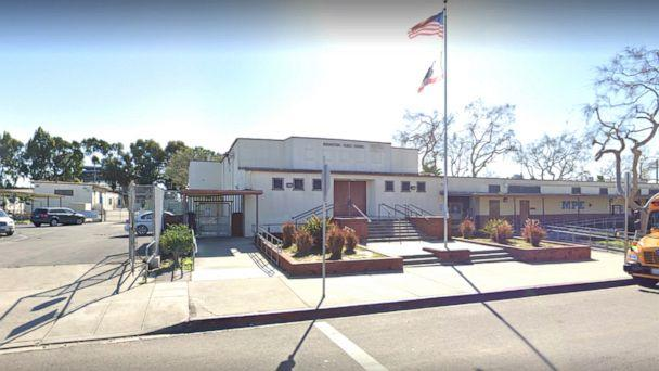 PHOTO: Manhattan Place Elementary School in Los Angeles. (Google Maps Street View)