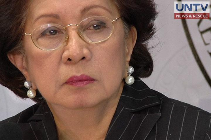 FILE PHOTO: Ombudsman Conchita Carpio-Morales