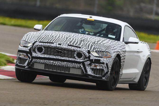 2021 Ford Mustang Mach 1 prototype, Image Credit: Ford