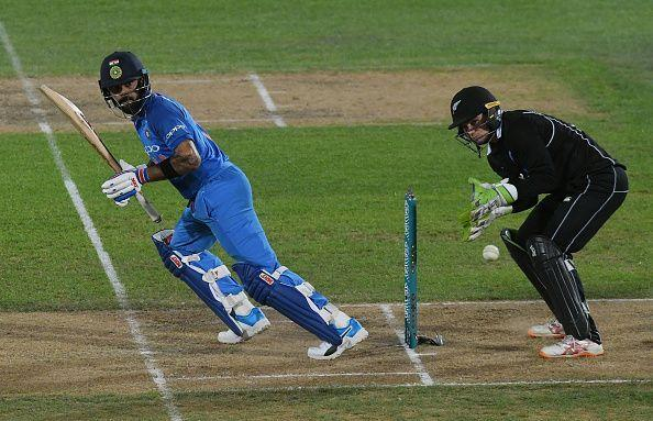 Virat Kohli vs New Zealand