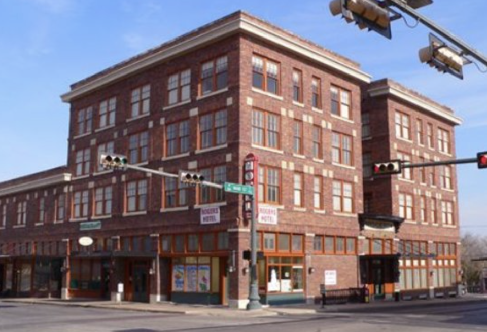 The Rogers Hotel in Texas is reportedly haunted, though now it has been converted into commercial space. Source: Trip Advisor