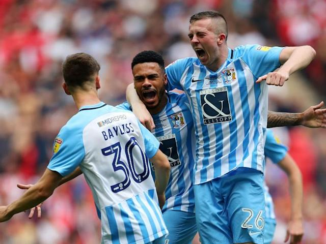 Coventry City secure promotion to League One after play-off victory against Exeter