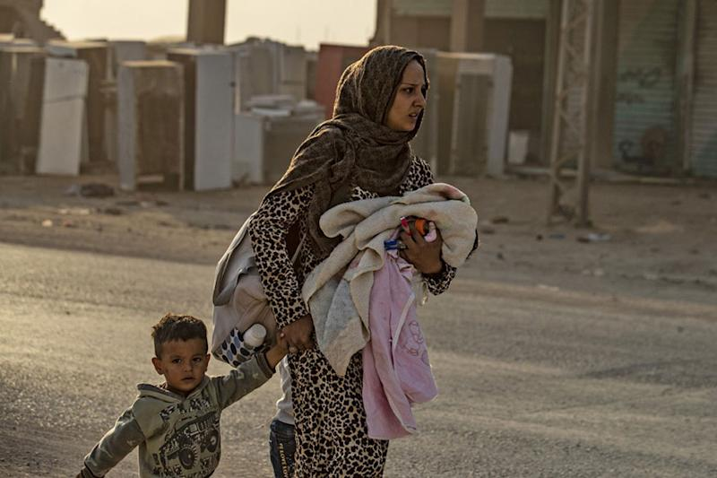 Fleeing Turkish Offensive, More Than 2,300 Syrians Cross into Iraq