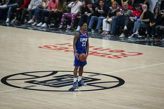 Lou Williams will have to quarantine for 10 days. (Photo by Jevone Moore/Icon Sportswire via Getty Images)