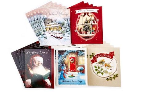 Card Factory Boxed Value Christmas Cards - Pack of 30 - Credit: Card Factory