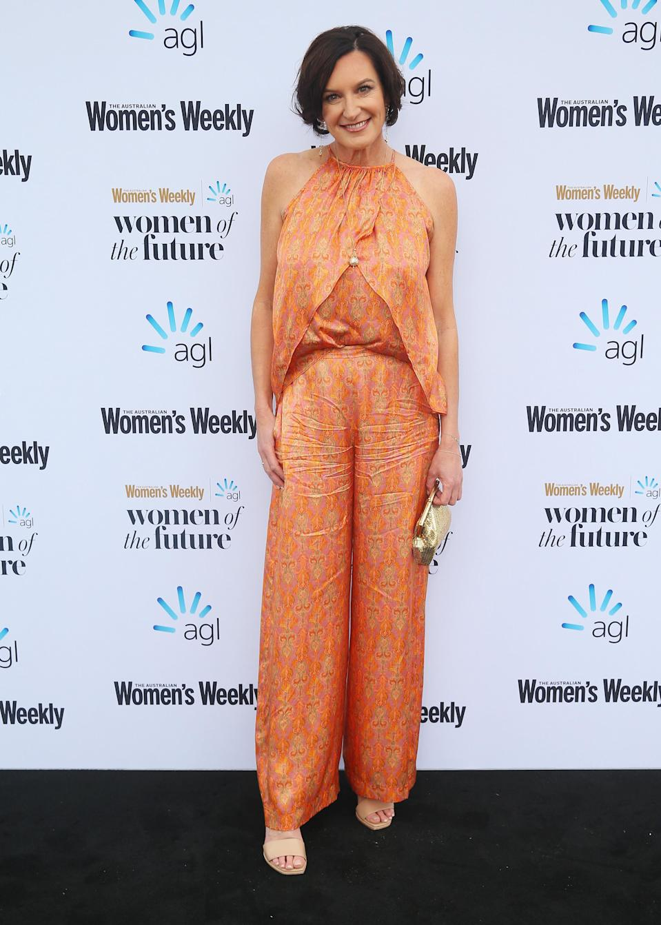 Cassandra Thorburn attended the Women of the Future Awards in Sydney on Wednesday. Photo: Getty