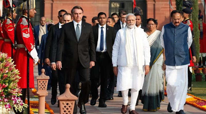PM Narendra Modi Responds to Jair Bolsonaro's Tweet Thanking India for Help With Hydroxychloroquine, Says India-Brazil Partnership 'Stronger in These Challenging Times'