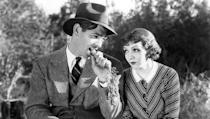 <p> Snobby socialite Ellen Andrews (Claudette Colbert) goes on the lam, relinquishing her rights as heir to the family fortune to elope with her new spouse. On the way, she meets and falls for the charms of a no-nonsense journalist Peter Warne (Clark Gable) during a cross-country trip. </p> <p> THE original romcom, Frank Capra's flick is a landmark 'screwball' comedy. It introduced the now-popular formula of a mismatched couple who eventually fall in love. </p>