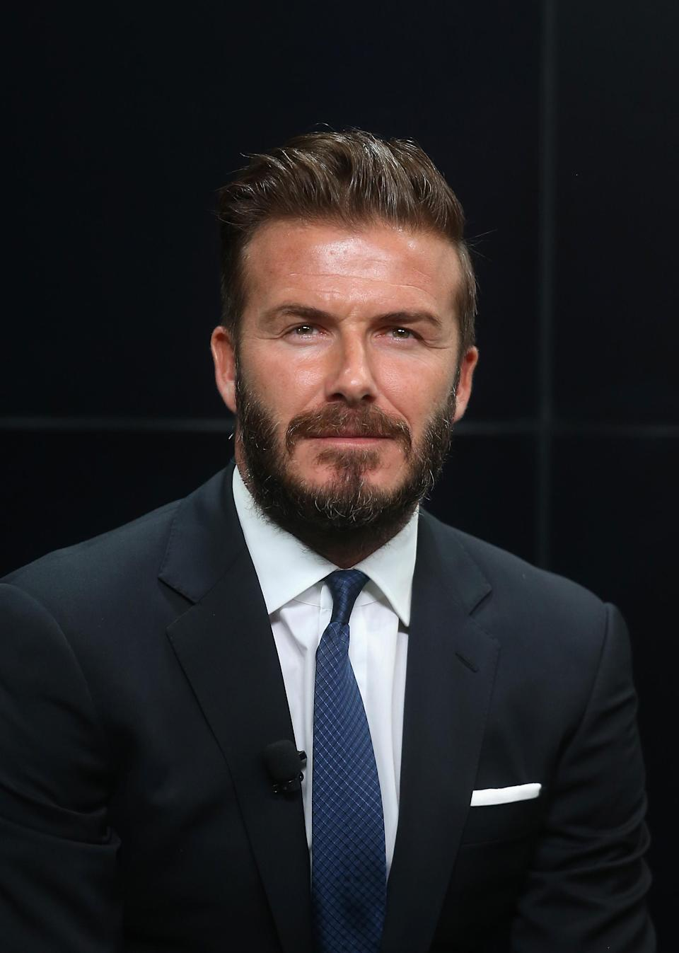 <p>We're a little surprised David Beckham didn't fair higher in the poll results but who can forget his nineties curtains? <em>[Photo: Getty]</em> </p>