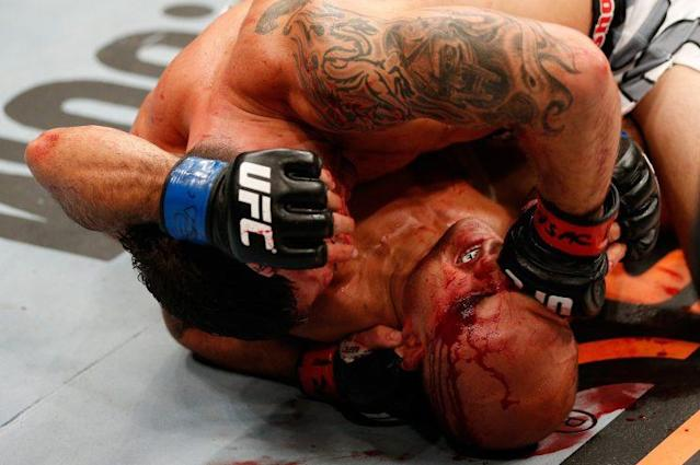 B.J. Penn's last fight was a TKO at the hands of Frankie Edgar. (Getty Images)