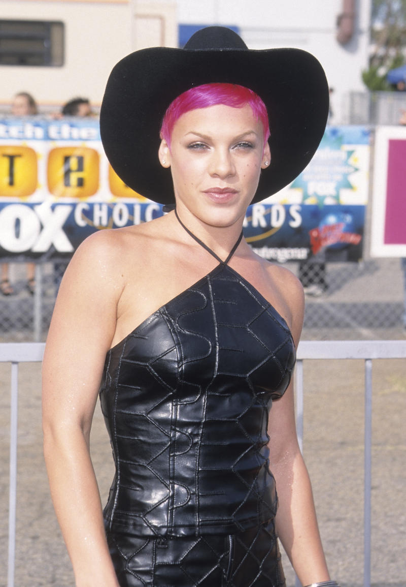 P!nk pictured in 1999. [Photo: Getty]