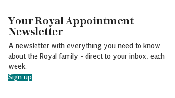 Your royal appointment newsletter REFERRAL (index)