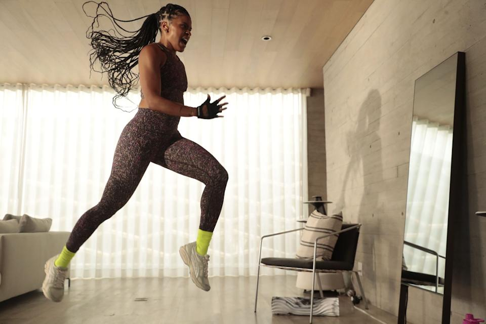 Lululemon and MIRROR instructor Deja Riley helps turn any living room into your personal dance floor. (Photo by Lululemon)