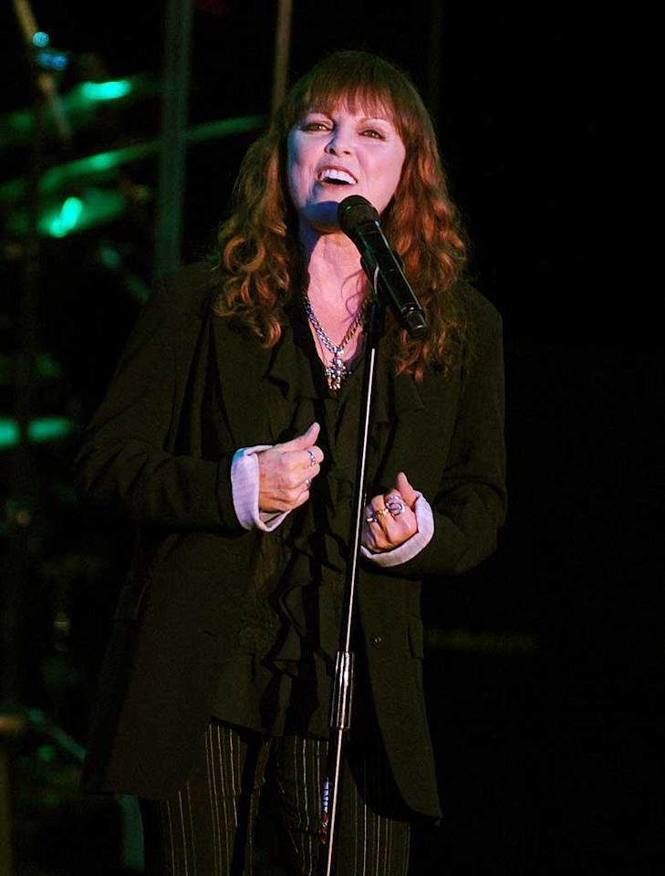 """January 10: Pat Benatar turns 58 Stephen Lovekin/<a href=""""http://www.gettyimages.com/"""" target=""""new"""">GettyImages.com</a> - August 25, 2010"""