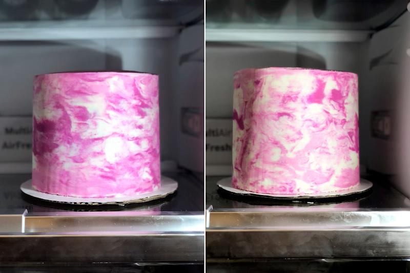 Marble Buttercream Cakes Are Mesmerizing and Basically Magic — Here's How It's Done
