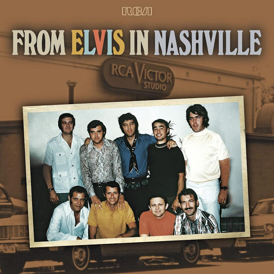 "Elvis Presley, ""From Elvis in Nashville"" This four-disc set chronicles Presley's June 1970 sessions in Nashville"