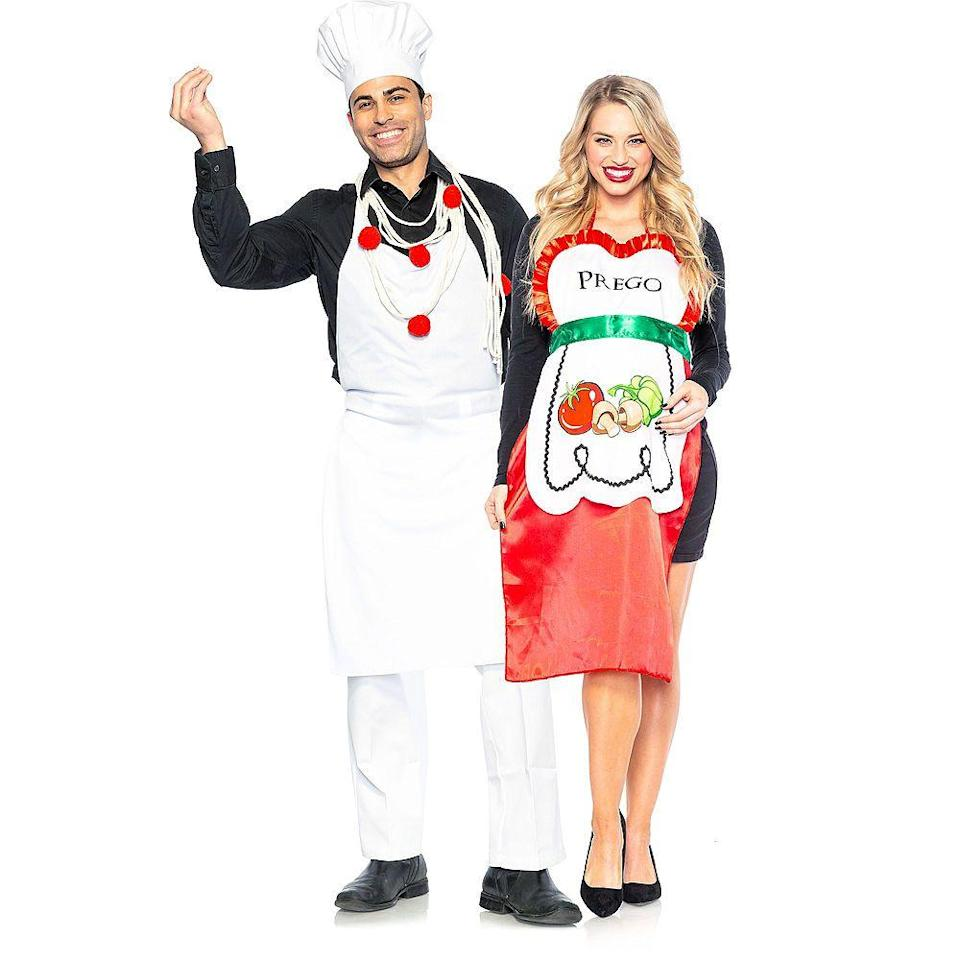 """<p><strong>See All Funny Costumes</strong></p><p>partycity.com</p><p><strong>$39.99</strong></p><p><a href=""""https://go.redirectingat.com?id=74968X1596630&url=https%3A%2F%2Fwww.partycity.com%2Fadult-pasta-chef-and-prego-couples-maternity-costumes-P855781.html&sref=https%3A%2F%2Fwww.delish.com%2Fholiday-recipes%2Fhalloween%2Fg21763230%2Fbest-friend-halloween-costumes%2F"""" rel=""""nofollow noopener"""" target=""""_blank"""" data-ylk=""""slk:Shop Now"""" class=""""link rapid-noclick-resp"""">Shop Now</a></p>"""