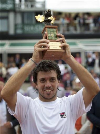 Berlocq upsets Verdasco to win Swedish Open