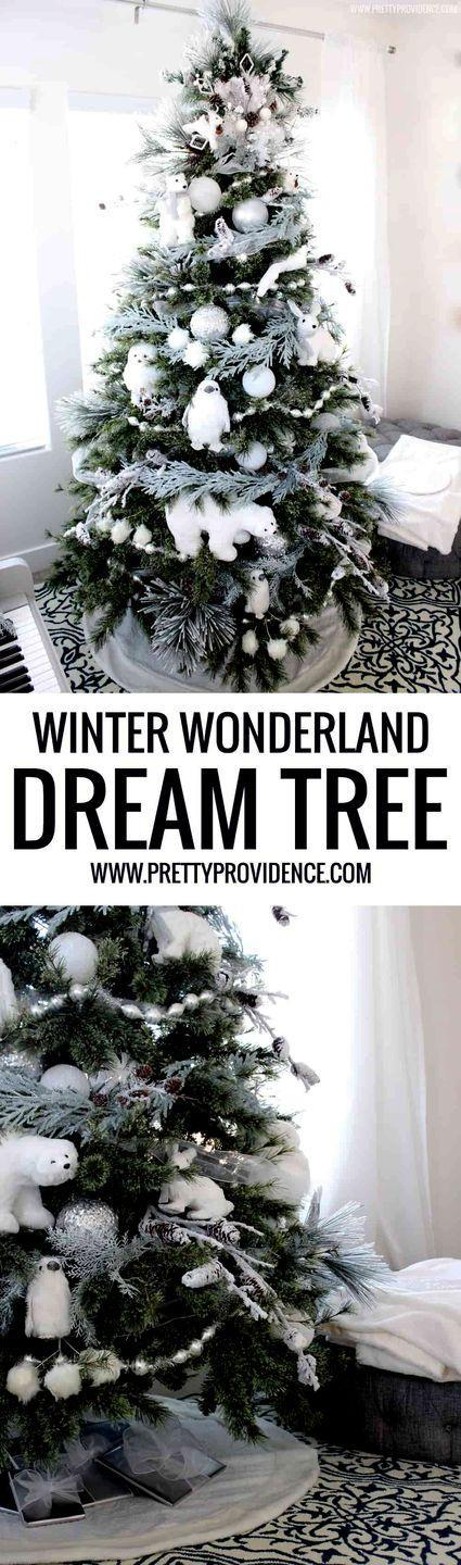 """<p>Looking for a tree that'll please both the kids and the adults? You've found it. The elegance and classic colors of this Christmas tree are great for adults, and the little ones will love the fun furry animals.</p><p><strong><em>Get the tutorial at <a href=""""https://prettyprovidence.com/winter-wonderland-dream-tree/"""" rel=""""nofollow noopener"""" target=""""_blank"""" data-ylk=""""slk:Pretty Providence"""" class=""""link rapid-noclick-resp"""">Pretty Providence</a></em></strong><strong><em>.</em></strong></p><p><a class=""""link rapid-noclick-resp"""" href=""""https://www.amazon.com/RAZ-Imports-Figurines-Christmas-Ornaments/dp/B07GMYM5QF/?tag=syn-yahoo-20&ascsubtag=%5Bartid%7C10070.g.2025%5Bsrc%7Cyahoo-us"""" rel=""""nofollow noopener"""" target=""""_blank"""" data-ylk=""""slk:BUY ANIMAL ORNAMENTS"""">BUY ANIMAL ORNAMENTS</a></p>"""