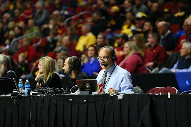 Drake basketball sportscaster Larry Cotlar was identified as a victim of Des Moines flash flooding Saturday night. (Drake University Athletics)