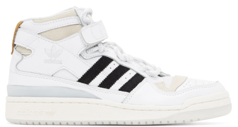 ADIDAS X IVY PARK White Forum Mid Sneakers