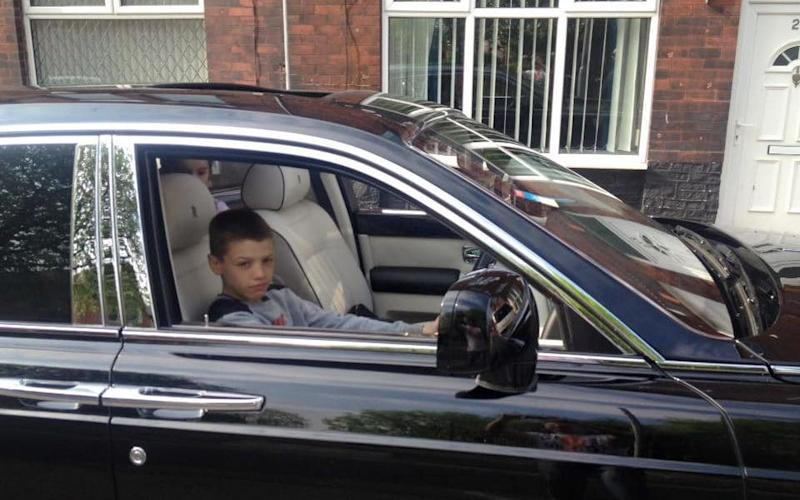 Kash Parkinson, 18, has been jailed for four years after running over a police officer - Cavendish Press (Manchester) Ltd