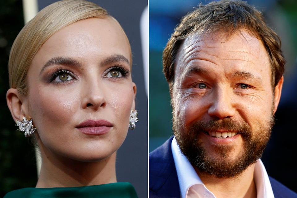 Jodie Comer and Stephen Graham (Credit: Reuters)