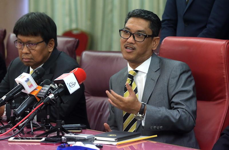 The Perak MB previously said issuing the titles would violate the National Land Council's 1988 decision and claimed this would be unconstitutional. — Picture by Farhan Najib