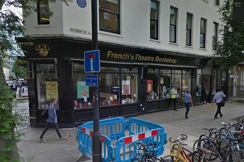 Closing: Samuel French Theatre Bookshop is set to go online-only: Google Street View