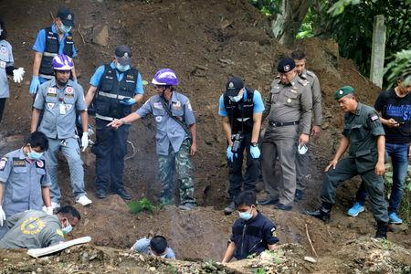 Bodies of 'murdered' Briton and wife found in Thailand