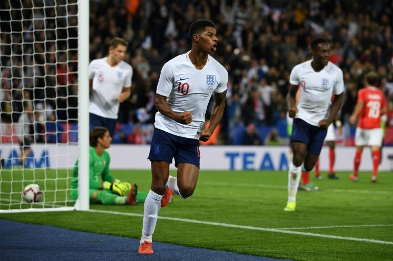 Marcus Rashford scored the only goal as England beat Switzerland on Tuesday
