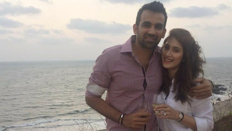 Zaheer Khan Announces Engagement to Sagarika in the Cutest Way