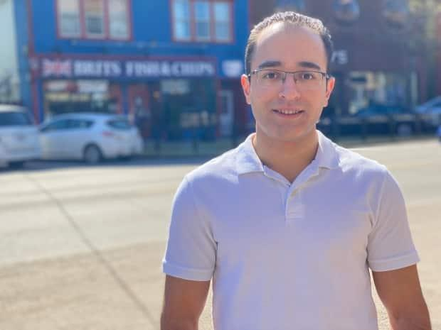 Hamed Voghoufi says the patio will also help make his restaurant more noticeable to customers.