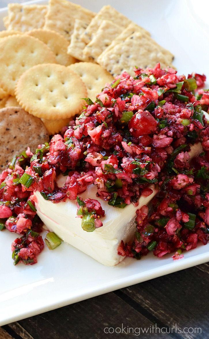 """<p>When tomato season ends, cranberries are there for you.</p><p>Get the recipe from <a href=""""http://cookingwithcurls.com/2015/12/01/cranberry-salsa/"""" rel=""""nofollow noopener"""" target=""""_blank"""" data-ylk=""""slk:Cooking With Curls"""" class=""""link rapid-noclick-resp"""">Cooking With Curls</a>.</p>"""