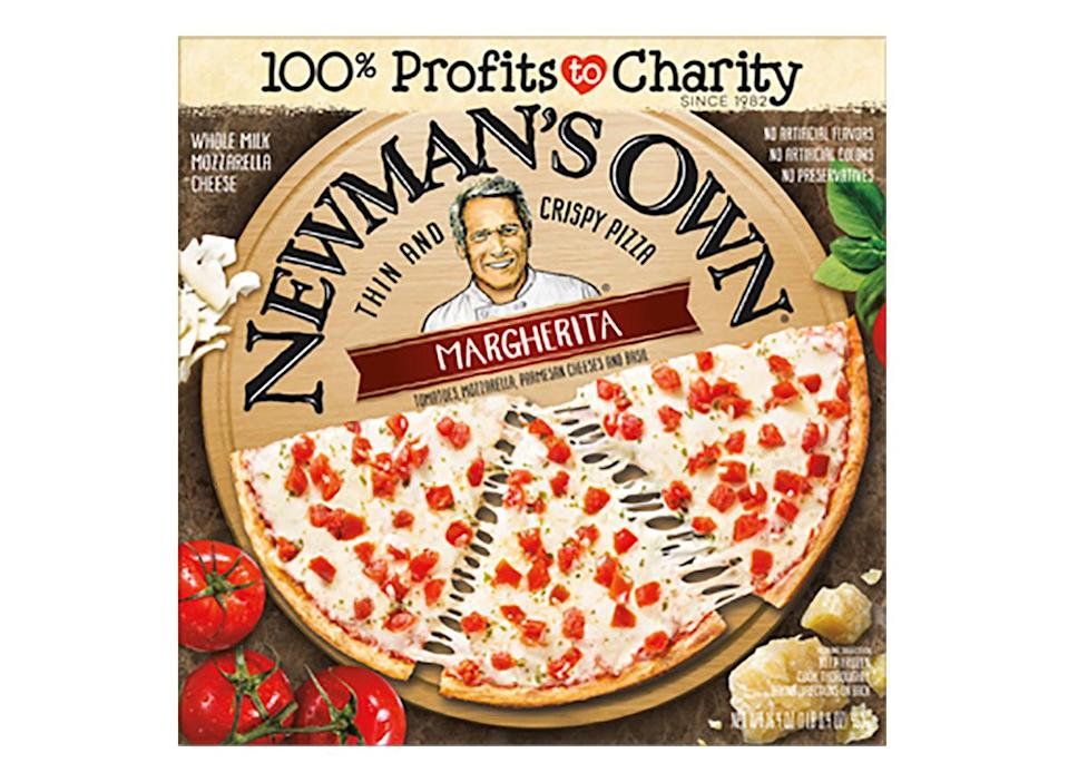 newmans own frozen margherita pizza