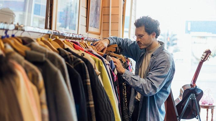 Skip the clutter of clothing racks at department stores by shopping these deals online.