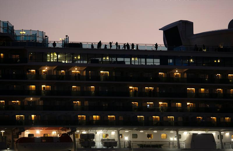 Princess Cruises, which has had at least 218 cases of coronavirus, announced Thursday that some passengers complete the rest of their 14-day quarantine at onshore facilities in Japan.