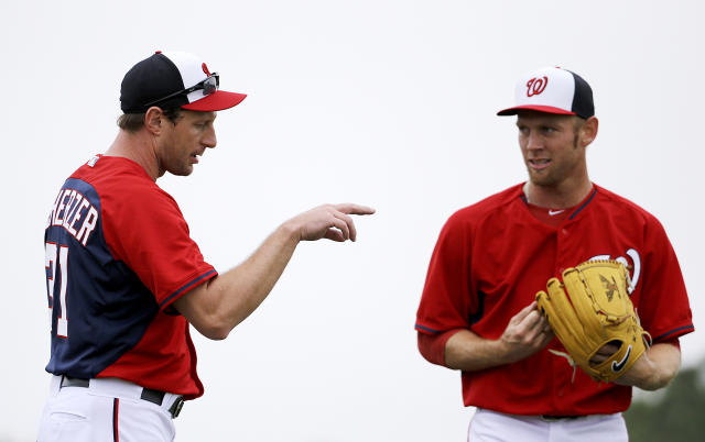 Scherzer and Strasburg should take the Nats to the top of the NL East. (AP)