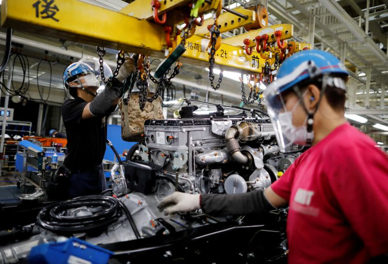 Japan's June factory activity extends declines for 14th month - PMI