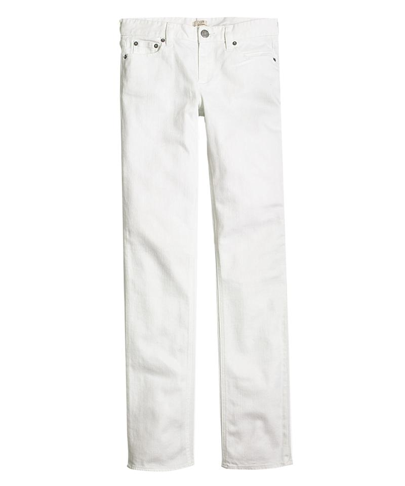 "<p>We've all been there. It's a year later and you see an annoying stain on your favorite white denim pants. Cost of replacing them? Let's just say, it's not in the cards. EXCEPT THAT IT IS. Buy these in bulk, and you'll never have to worry about a silly stain again.</p> <p>$48 | <a rel=""nofollow"" href='https://click.linksynergy.com/fs-bin/click?id=93xLBvPhAeE&subid=0&offerid=466652.1&type=10&tmpid=13998&RD_PARM1=https%3A%2F%2Ffactory.jcrew.com%2Fwomens_shops%2Fthegetawayshopforwomen%2Fpantsanddenim%2FPRDOVR%7EG1997%2FG1997.jsp&u1=ISFASHIONWARMVACATIONSOLUTIONSRF'>factory.jcrew.com</a></p>"