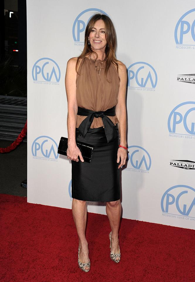 """<a href=""""http://movies.yahoo.com/movie/contributor/1800091098"""">Kathryn Bigelow</a> at the 21st Annual Producers Guild Awards in Hollywood, California - 01/24/2010"""