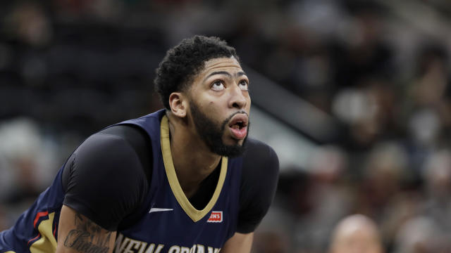Anthony Davis is chasing more than a playoff spot. (AP)