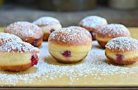 "<p>This year, New Yorkers wanted to know how to make sufganiyot, a popular <a href=""https://www.thedailymeal.com/holidays/hanukkah-foods?referrer=yahoo&category=beauty_food&include_utm=1&utm_medium=referral&utm_source=yahoo&utm_campaign=feed"" rel=""nofollow noopener"" target=""_blank"" data-ylk=""slk:Hanukkah dessert"" class=""link rapid-noclick-resp"">Hanukkah dessert</a>. You can make the confection with a variety of different fillings, like custard, lemon curd and more, but jam is the most common.</p> <p><a href=""https://www.thedailymeal.com/best-recipes/sufganiyot-recipe?referrer=yahoo&category=beauty_food&include_utm=1&utm_medium=referral&utm_source=yahoo&utm_campaign=feed"" rel=""nofollow noopener"" target=""_blank"" data-ylk=""slk:For a Sufganiyot recipe, click here"" class=""link rapid-noclick-resp"">For a Sufganiyot recipe, click here</a>.</p>"