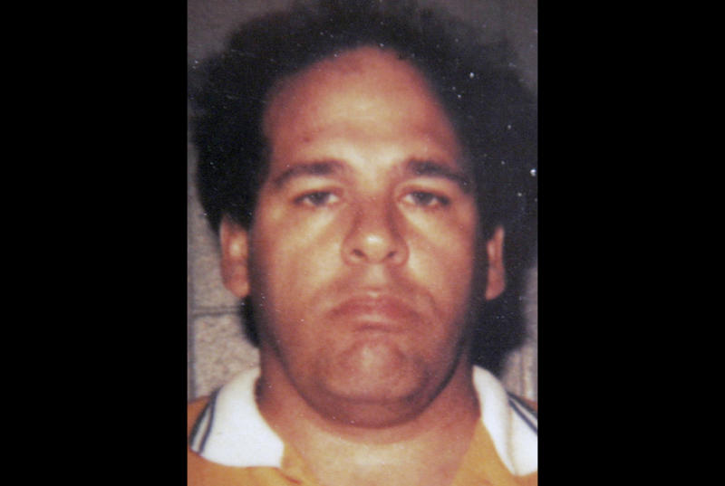 FILE - This 1983 file photo provided by the Chicago Crime Commission, shows reputed mobster Frank Calabrese Sr., one of several reputed mobsters convicted in 2009 in a racketeering conspiracy that included 18 decades-old murders. The Chicago Sun-Times reports Tuesday, June 26, 2012, that an online auction July 10-24 will sell the items, including more than 250 loose diamonds, earrings and other jewelry. (AP Photo/Chicago Crime Commission, File)