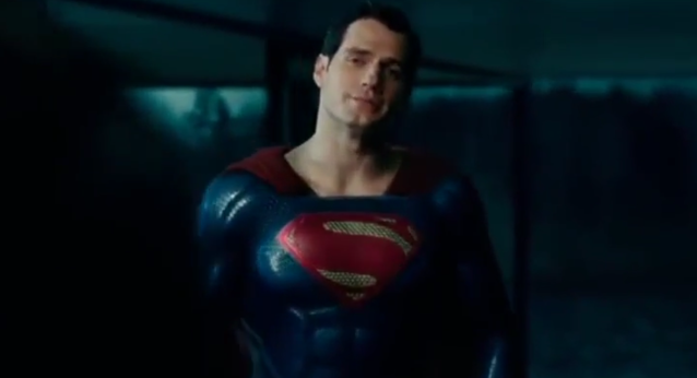 Superman, from a <em>Justice League</em> deleted scene. (Photo: Warner Bros.)